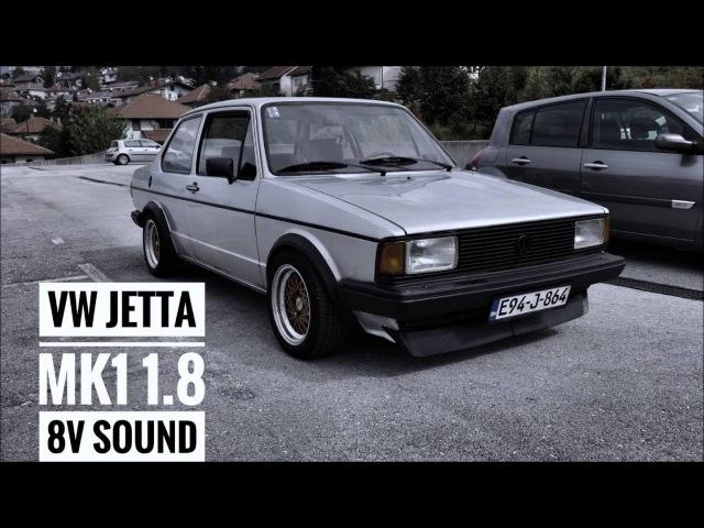 Jetta mk1 1.8i 8v PF (GTI) sound