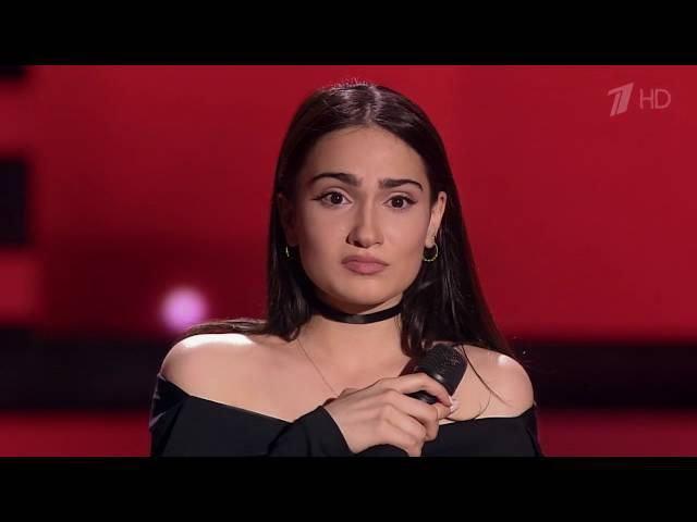 Верико Тухашвили «Одно и то же» - Слепые прослушивания – Голос – Сезон 5