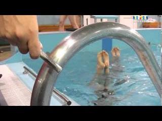Саратовская команда по синхронному плаванию
