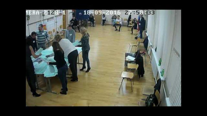 Подборка видео с избирательных участков 217-го одномандатного округа Ч.1
