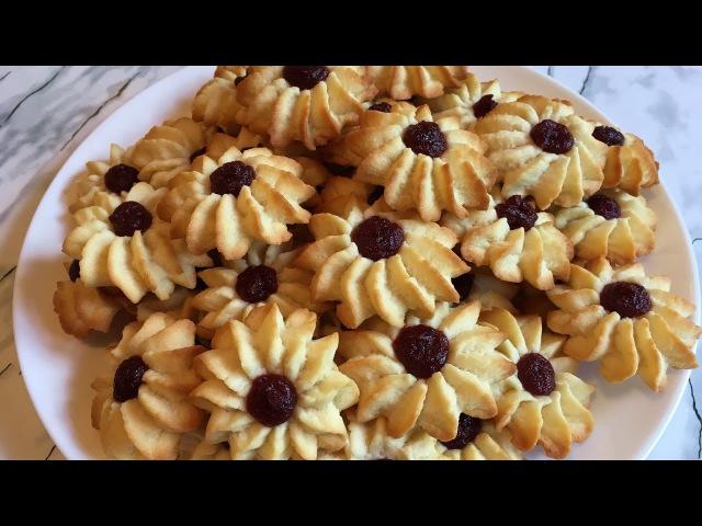 Печенье Курабье по ГОСТу / Песочное Печенье / Cookies Kurabye / Бакинское Курабье / Простой Рецепт