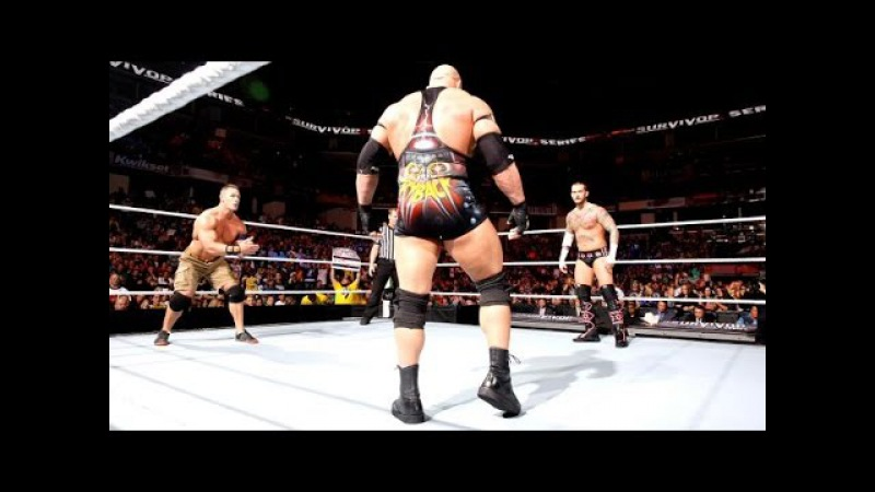 CM Punk vs John Cena vs Ryback Highlights-Survivor Series 2012