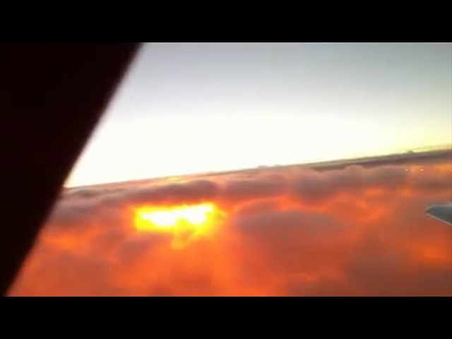 I witnessed the most mysterious thing ever - Plane flying THROUGH the Sun