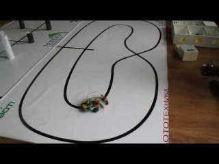 Line Following Robot Electronics Maker
