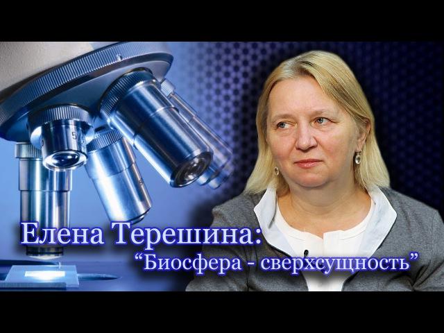 Елена Терешина Человек конечный продукт биосферы