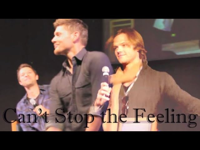 Supernatural Can't Stop the Feeling Jensen Ackles and Jared Padalecki