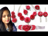 easy DIY  Flower Jewelry For Brides l Beautybox