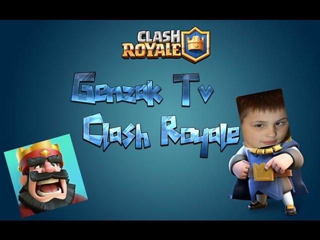 Genzak Tv в Clash Royale.
