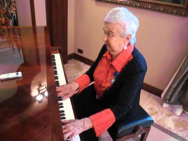 Людмила Лядова Вот это хор. Исполняет автор.
