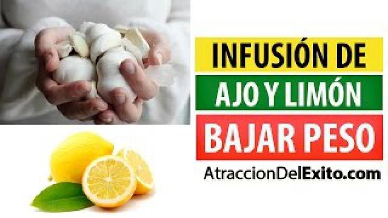 Bajar De Peso Con La Super Infusión De Ajo y Limón - Quemador de Grasa Natural