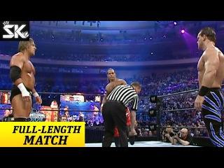 WWE Wrestlemania 20 Shawn Michaels vs Triple H vs Chris Benoit en Español Latino Completo