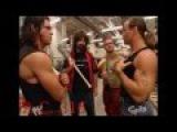 Chris Benoit, Shawn Michaels, Mick Foley amp Johnny Nitro segment 4/5/2004