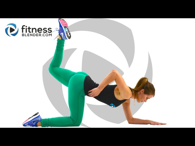 10 Minute Butt and Thigh Workout At Home No Equipment Butt and Thigh Toning Workout