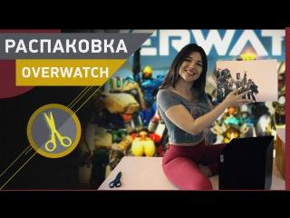 Даша распаковывает коллекционку Overwatch