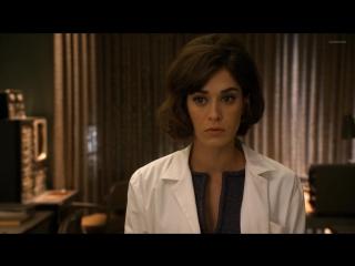 Лиззи Каплан (Lizzy Caplan) голая в сериале «Мастера секса» (2013)