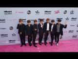 BTS on the Magenta Carpet for BBMAs 2017