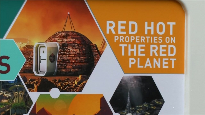 A glimpse into life on Mars First ever Mars show home showcased in London
