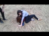 Prearrenged catfight in Russia
