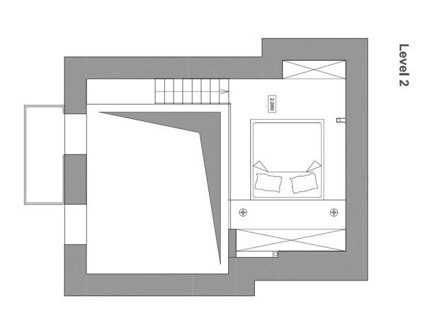 Двухуровневая квартира-студия в Киеве.