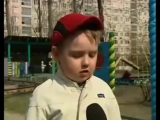 Забавное интервью смешного малыша забавно смотреть