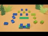 Как построить динозавра из Lego Duplo