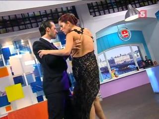 Facundo Pinero&Vanesa Villalba (Факундо Пинэро и Ванеса Виллальба). Пятый канал СПб
