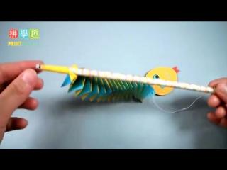 Подвижная гусеничка или змейка, кому как больше нравится :)
