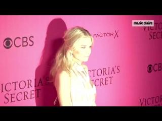 Brillo y expectación en el photocall del desfile de Victorias Secret