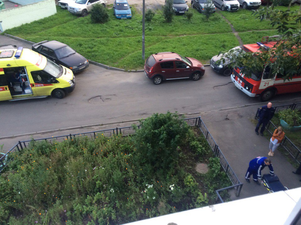НаКомпозиторов нетрезвый «человек-паук» выжил после падения с 5-ого этажа