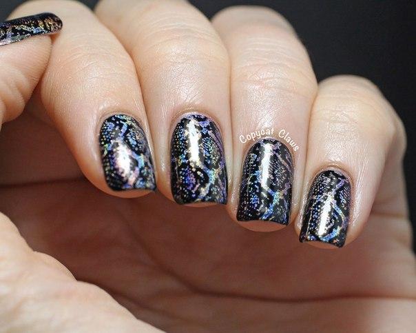 Голографическое покрытие для ногтей