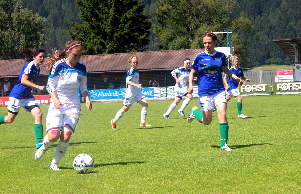 Женская сборная «RusDeutsch» - бронзовый призёр Европеады!