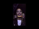 Кинса на концерте Tokio Hotel Kenza Zouiten