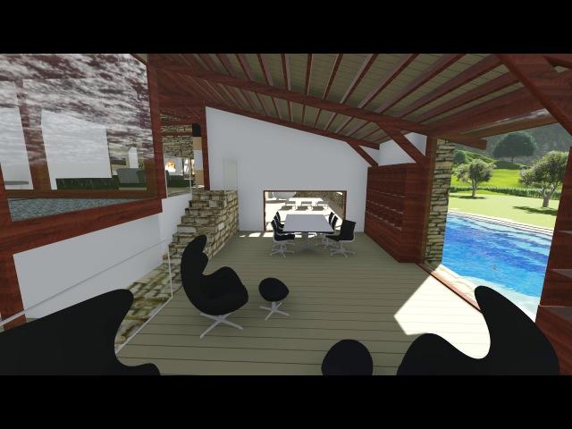 Архитектурная 3D визуализация. Sketchup, Lumion
