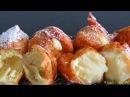 Французские ПОНЧИКИ из заварного теста Homemade Beignets choux bánh Quảy tròn BÁNH Su KEM Chiên