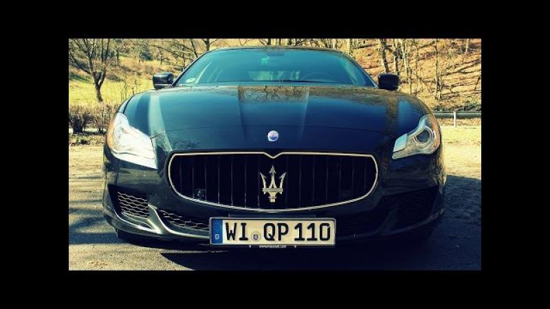 ' 2015 Maserati Quattroporte ' Test Drive Review - TheGetawayer