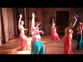 Dance with veils. The school of a modern oriental dance of VeilDance