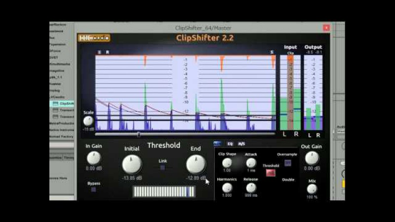 LVC-Audio ClipShifter 2.2