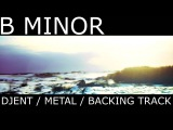 B Minor Djent Metal Progressive Melodic Guitar Backing Track 7 string