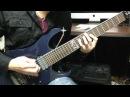 Geist of Trinity - Ibanez 7 string demo(High Gain Metal- Bridge)Comparison