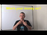 Learn English Daily Easy English Expression 0495 Who's your money on