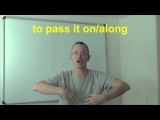 Learn English Daily Easy English Expression 0504 pass it onalong