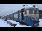 Дизель-поезд Д1-749 первый и последний видеообзор Д1 в России