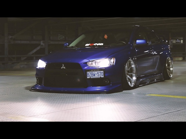Smurf Evo X | StanceNation