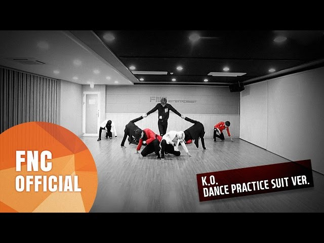 SF9 K O 안무 연습영상 Dance Practice Video SUIT Ver