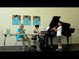Masterclass with Sir James Galway, Part I Julin Cheung, age 9, playing Chaminade Concertino
