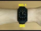 GEEK REVIEW №12. ОБЗОР УМНЫХ ЧАСОВ NO.1 D6. По-настоящему умные часы на Android 5.1 Lollipop