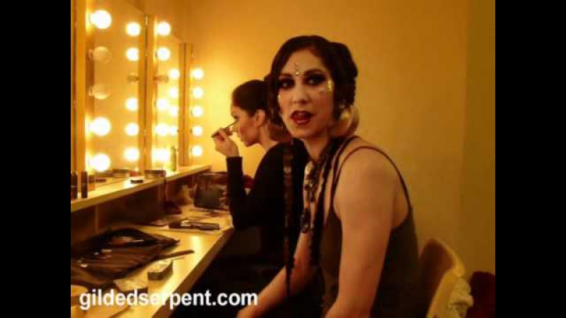 Gilded Serpent presents Rachel Brice backstage at BDSS