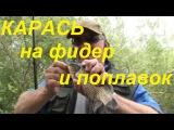 Рыбалка на карася-Секреты ловли на поплавочную удочку и фидер