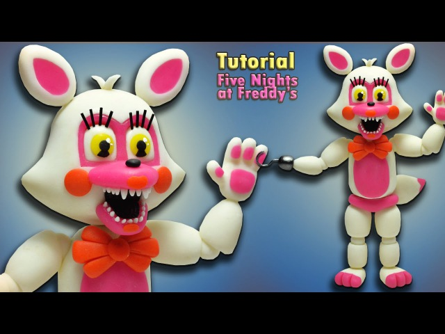 FNaF World ★ Adventure Funtime Foxy Toy Foxy Tutorial - Polymer clay ★ Porcelana fria ★(REUPLOAD)