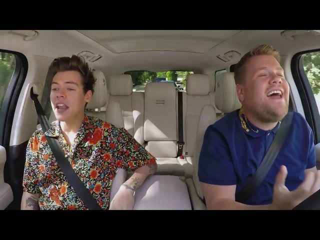 Harry Styles - Sign of The Times (Carpool Karaoke)